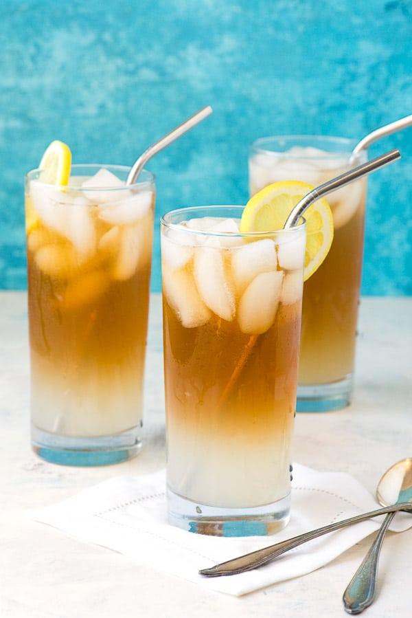Earl Grey Lemon Vodka John Daly Cocktail. A refreshing lemonade, iced tea, lemon vodka sipper to keep you cool all summer long! - BoulderLocavore.com