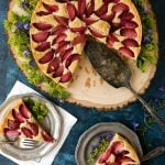 Rustic Plum Cake. Simple seasonal cake everyone will love. Gluten-free or regular options. - BoulderLocavore.com