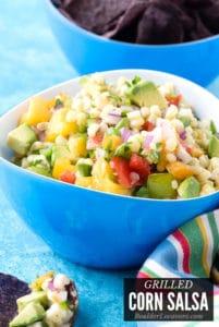 Corn Salsa title image