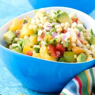 Grilled Sweet Corn Salsa. Everyone loves this sweet-spicy grilled corn salsa. It is bursting with summer flavors and colors that are irresistible! - BoulderLocavore.com