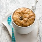 Peanut Butter Lovers Chocolate Chip Mug Cake (gluten-free)