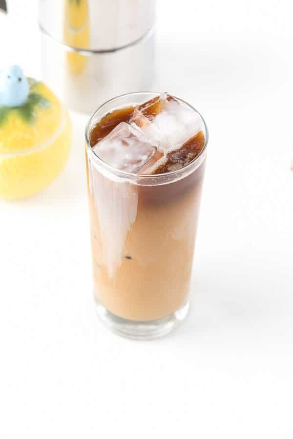 Buttercream Iced Latte. A two-ingredient iced coffee recipe with natural, light flavoring you'll love! - BoulderLocavore.com