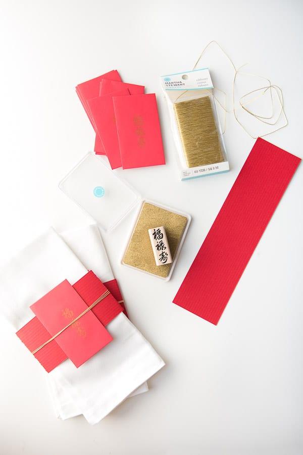 DIY Chinese napkin place settings - BoulderLocavore.com