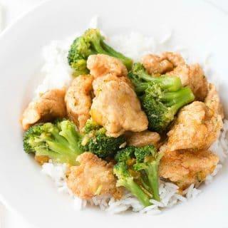 Express Orange Chicken with Jasmine Rice (recipe) - BoulderLocavore.com