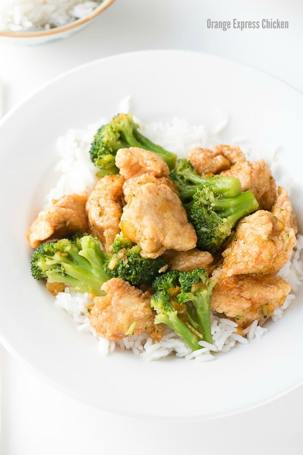 Express Orange Chicken: Home Takeout Chinese Food Fast!