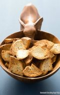 Homemade Everything Bagel Chips