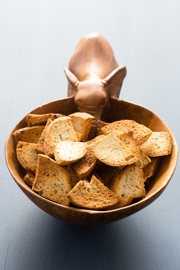 Homemade Bagel Chips. Crunchy on the outside, soft on the inside Everything bagel chips are tasty and great with any dip or spread. - BoulderLocavore.com