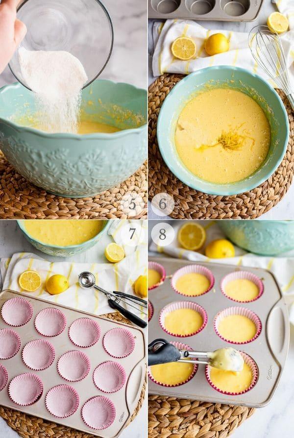 Lemon Cupcakes recipe steps 5-8