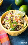 Mexican Green Chile Quinoa Salad