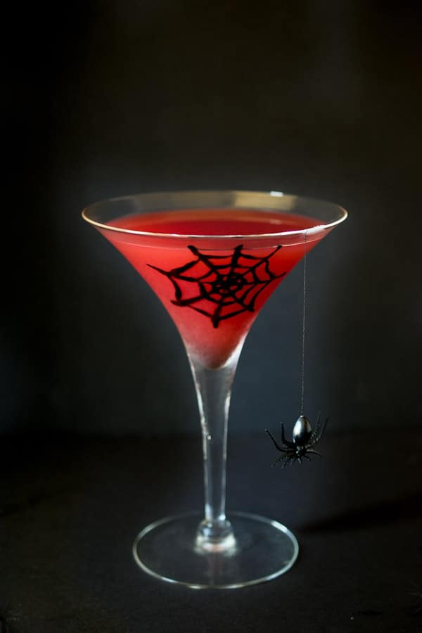 Halloween Blood Orange Martini Culinary Ginger