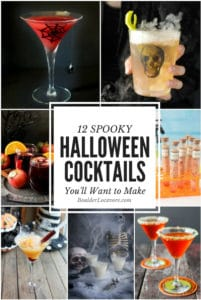 Halloween Cocktails collage title