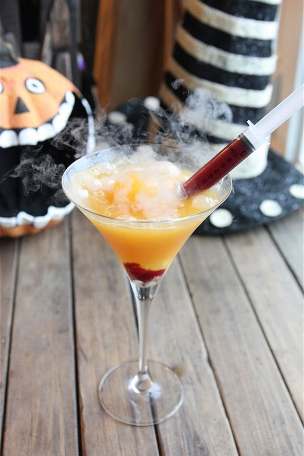 Halloween Vampire Martini The Hopeless Housewife