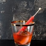 The Negan Cocktail {an Old Fashioned The Walking Dead style}