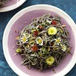 Witch Hair Pasta {Spicy Garlic Brown Butter Black Bean Pasta}