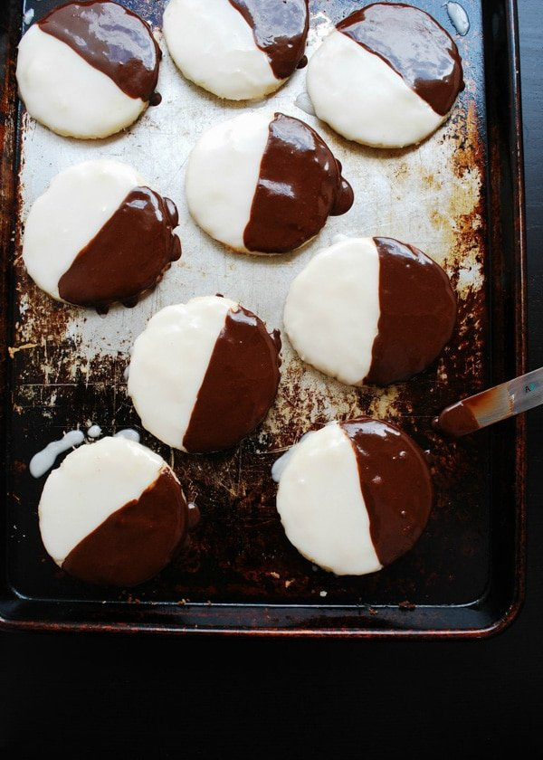 Black and White Cookies (top 8 allergen free) Gluten-Free | Allergy Awesomeness