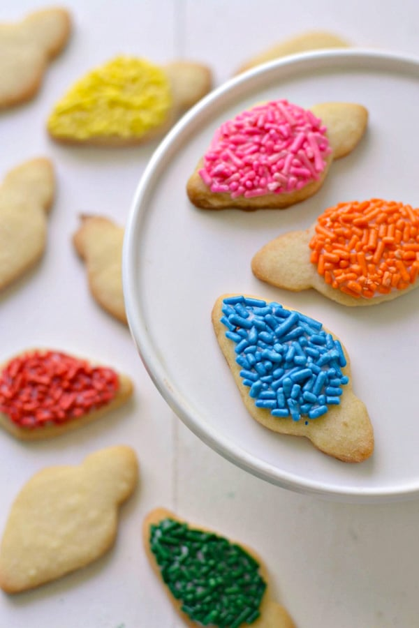 Christmas Light Cookies Gluten-Free | Fork and Beans