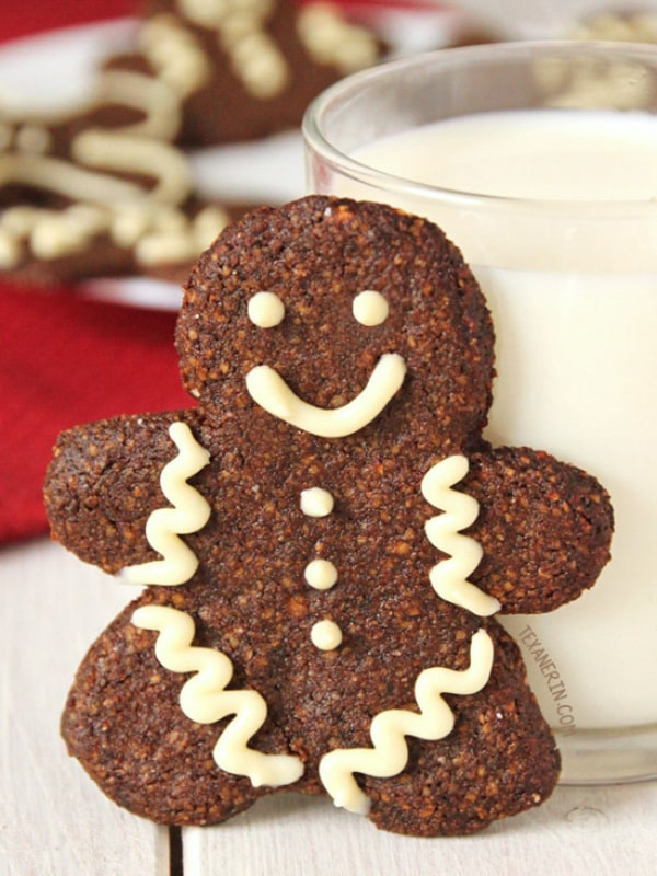 Paleo Gingerbread Men Cookies Gluten-Free | Texanerin