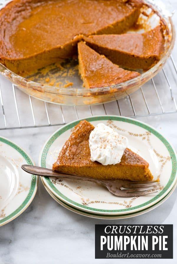Best Crustless Pumpkin Pie Recipe Boulder Locavore
