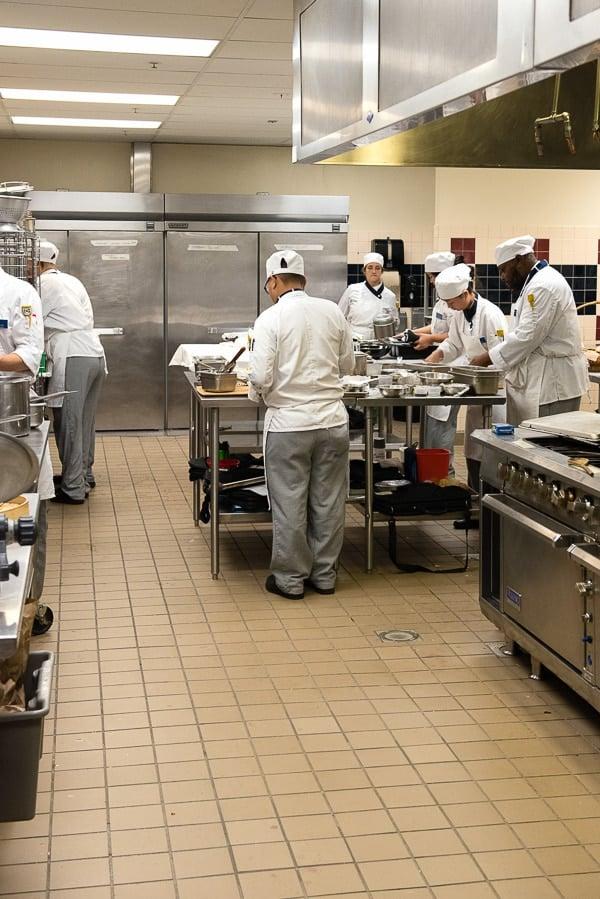 Culinary Arts class Johnson and Wales University Denver CO BoulderLocavore.com