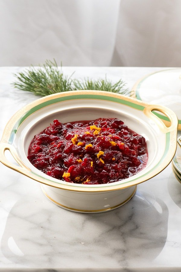 Fresh Cranberry Orange Sauce. Ready in 15 minutes, this fresh version of cranberry sauce is a cinch and perfect for Thanksgiving. BoulderLocavore.com