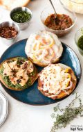 Personal Bagel Pizzas