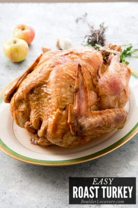 Roast Turkey Recipe title image
