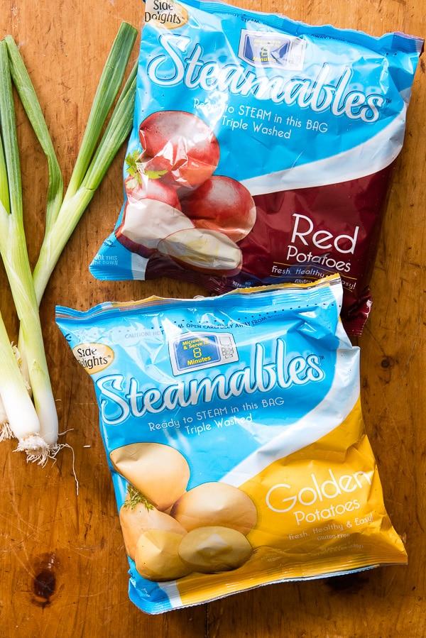 Side Delights Steamable potatoes (microwaveable) BoulderLocavore.com