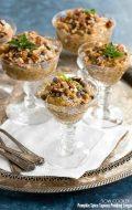 Slow Cooker Pumpkin Spice Tapioca Pudding (vegan)