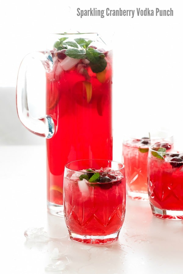 Easy punch recipes with cranberry juice