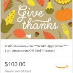 Giving Thanks: $100 Amazon Gift Card Giveaway