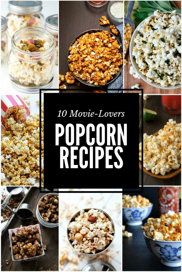 10 Movie Lovers Popcorn Recipes | BoulderLocavore.com