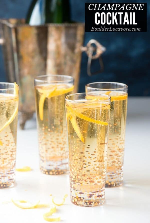 CHAMPAGNE COCKTAIL TITLE IMAGE