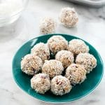 Coconut Cranberry Granola Energy Bites