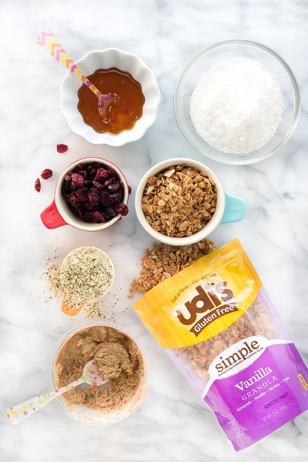Coconut Cranberry Granola Energy Bites gluten free BoulderLocavore.com 4217