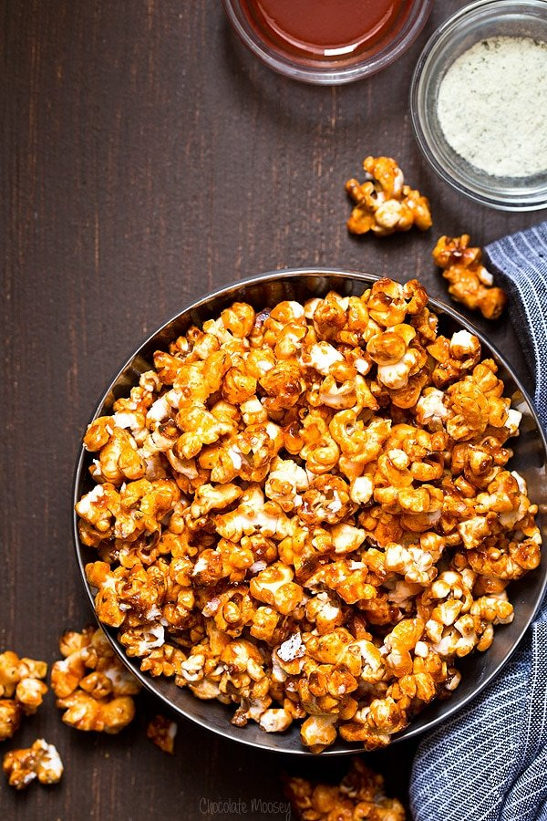 Buffalo Ranch Caramel Popcorn | Chocolate Moosey