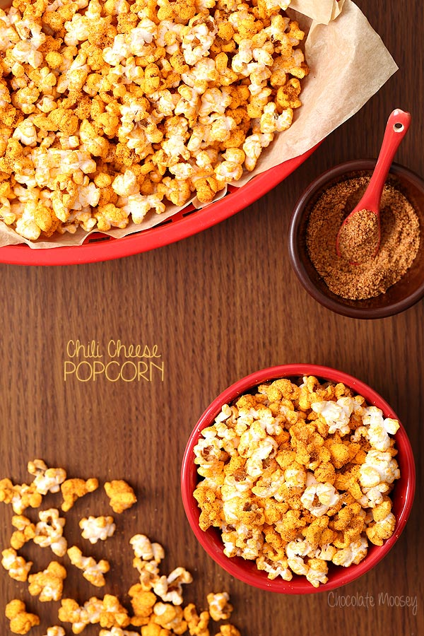 Chili Cheese Popcorn | Chocolate Moosey