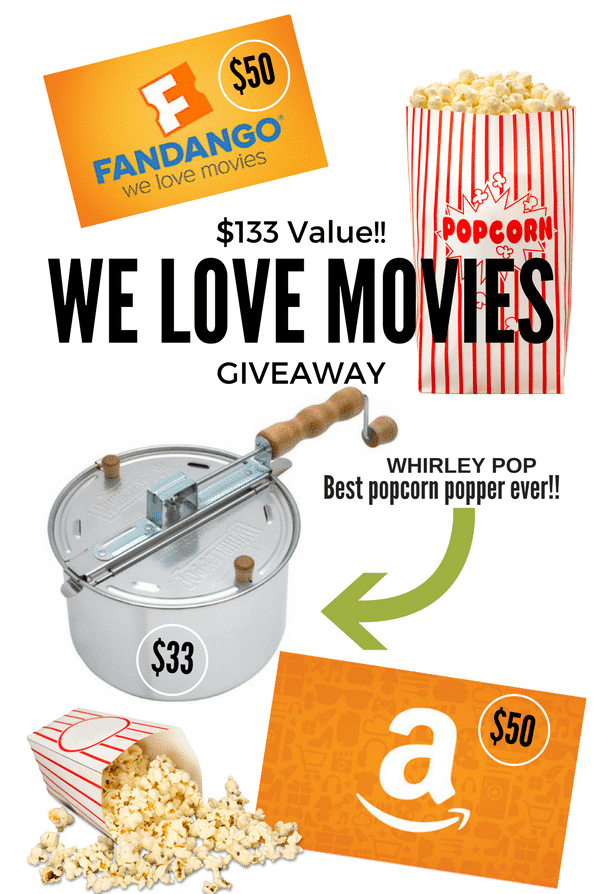 WE LOVE MOVIES giveaway | BoulderLocavore.com