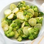 Lemon Garlic Broccoli
