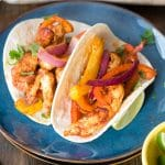 Colorful Sheet Pan Chicken Fajitas