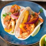 Fast and Easy Sheet Pan Chicken Fajitas