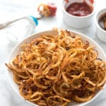 How to Bake Spicy Curly Fries at Home