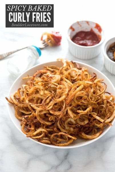 Spicy Curly Fries title image