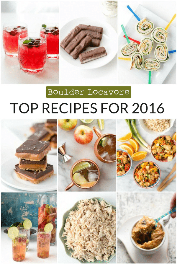 TOP RECIPES FOR 2016 | BoulderLocavore.com