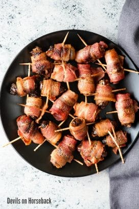 Devils on Horseback (appetizer)