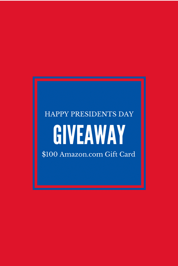 President's Day Amazon.com giveaway BoulderLocavore.com