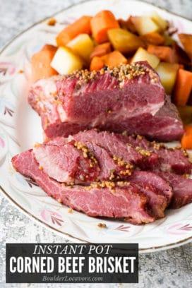 Instant Pot Corned Beef Brisket title image