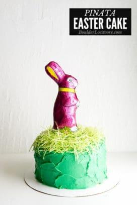 Pinata Easter Cake title image