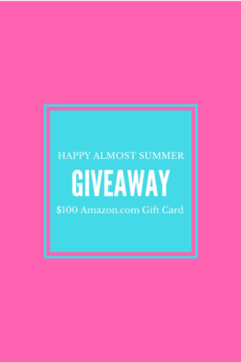 Almost Summer $100 Amazon.com Gift Card Giveaway