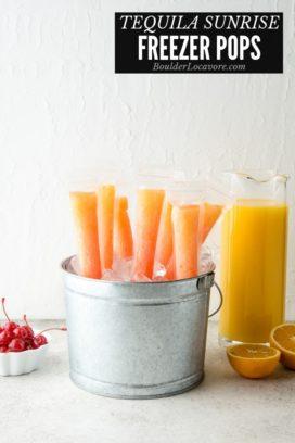 Tequila Sunrise Freezer Pops title image