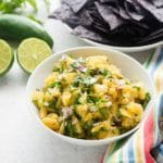 Roasted Pineapple Salsa: Irresistibly Sweet & Spicy!
